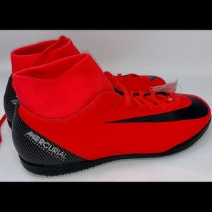 Aj3569-600 Nike Mercurial Indoor Soccer Shoes